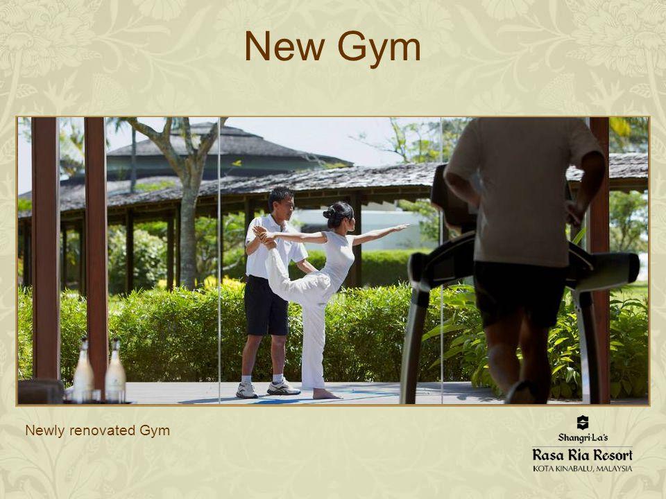 Newly renovated Gym New Gym