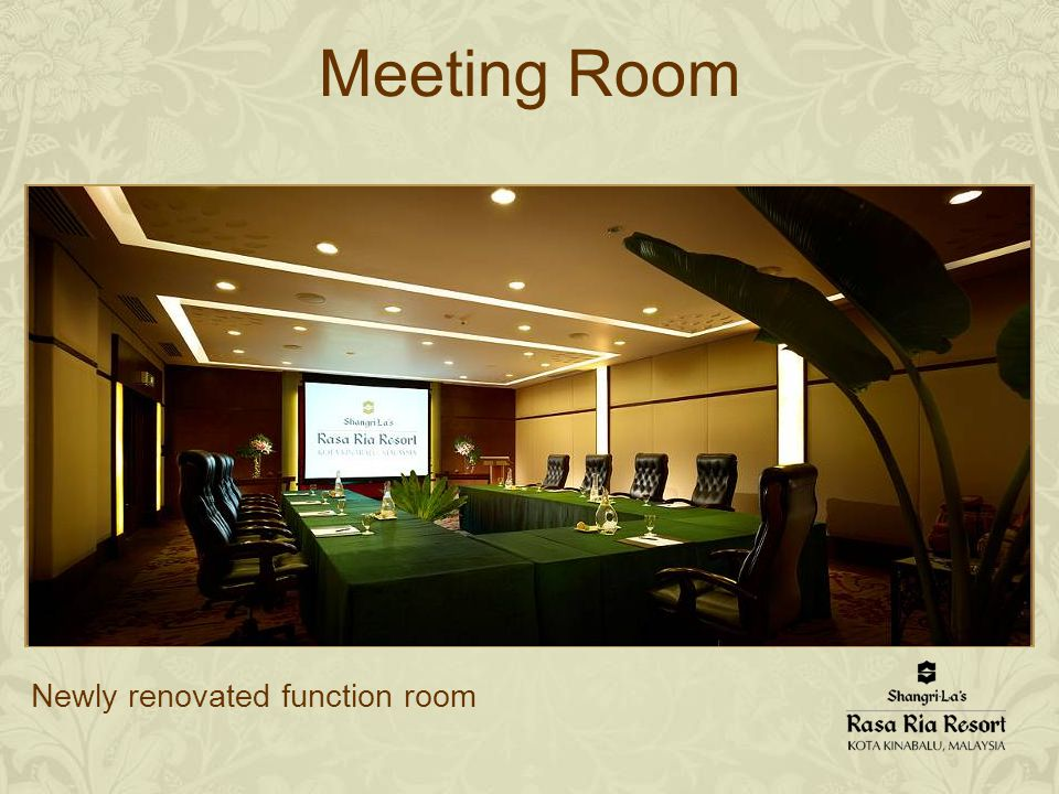 Meeting Room Newly renovated function room