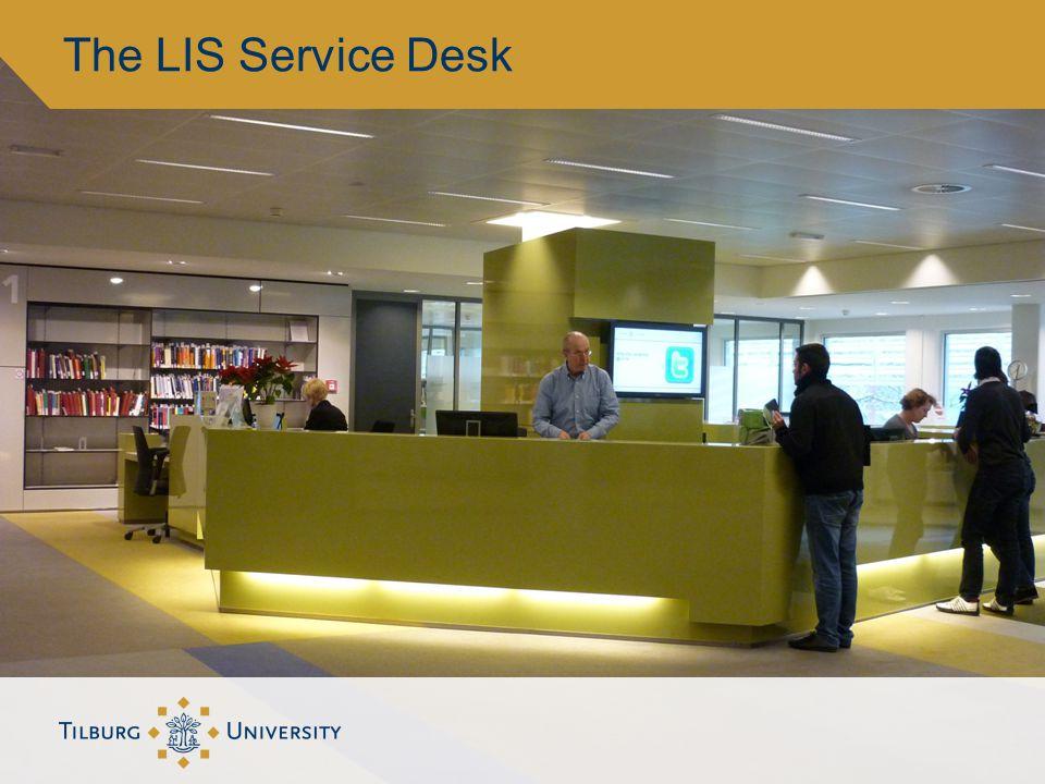 The LIS Service Desk