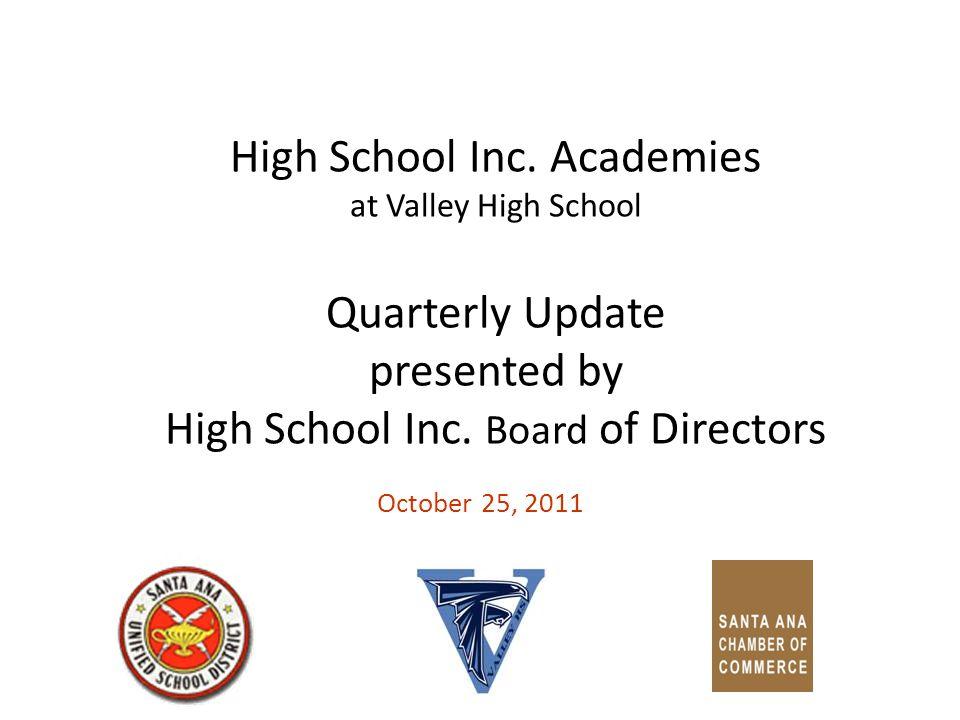 2 High School Inc.