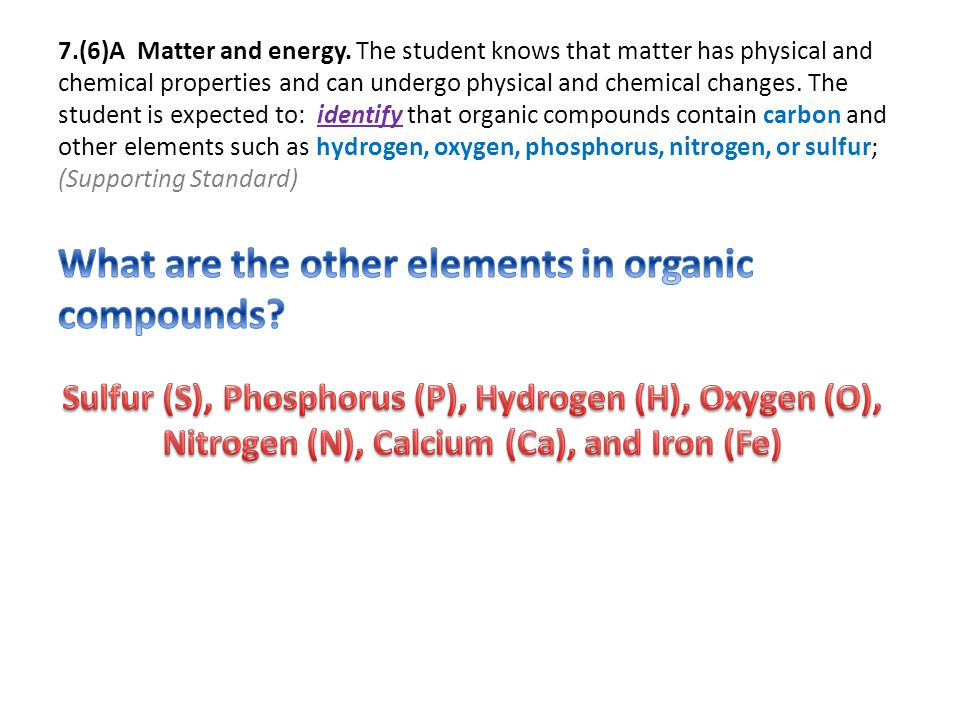 7.(6)A Matter and energy.