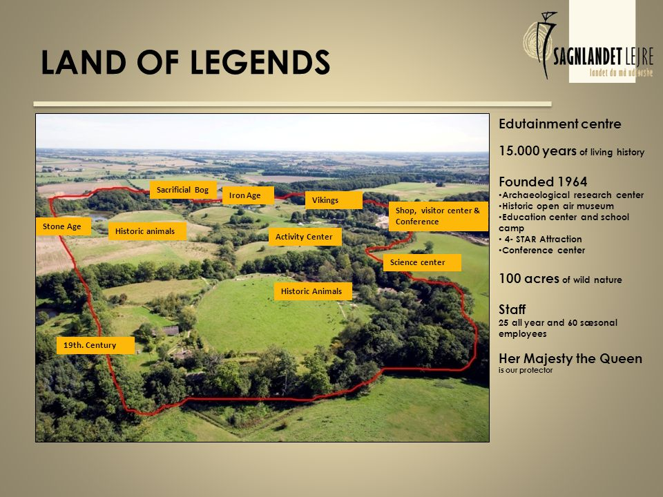 LAND OF LEGENDS Stone Age 19th.