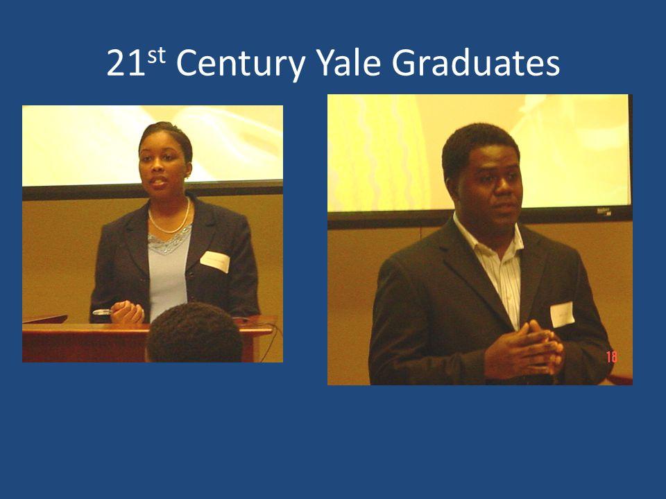 21 st Century Yale Graduates