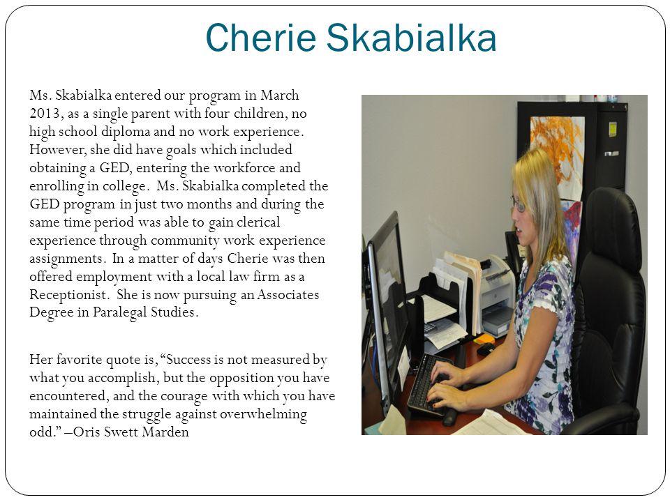 Cherie Skabialka Ms.