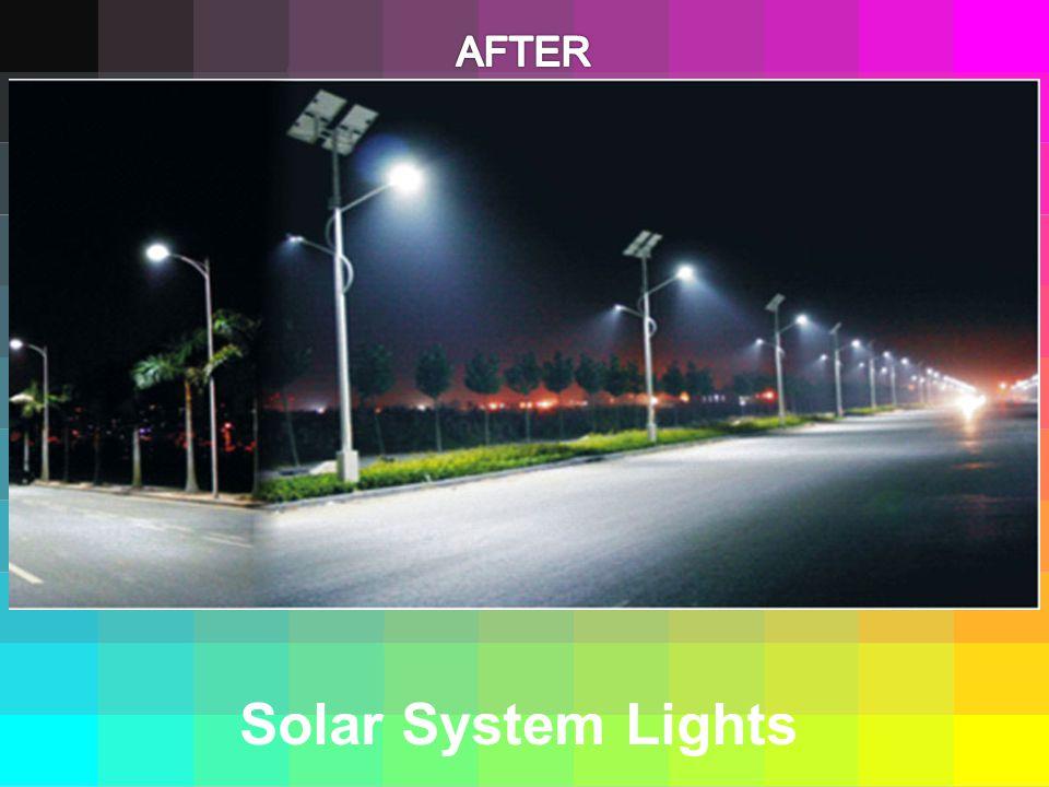 Solar System Lights