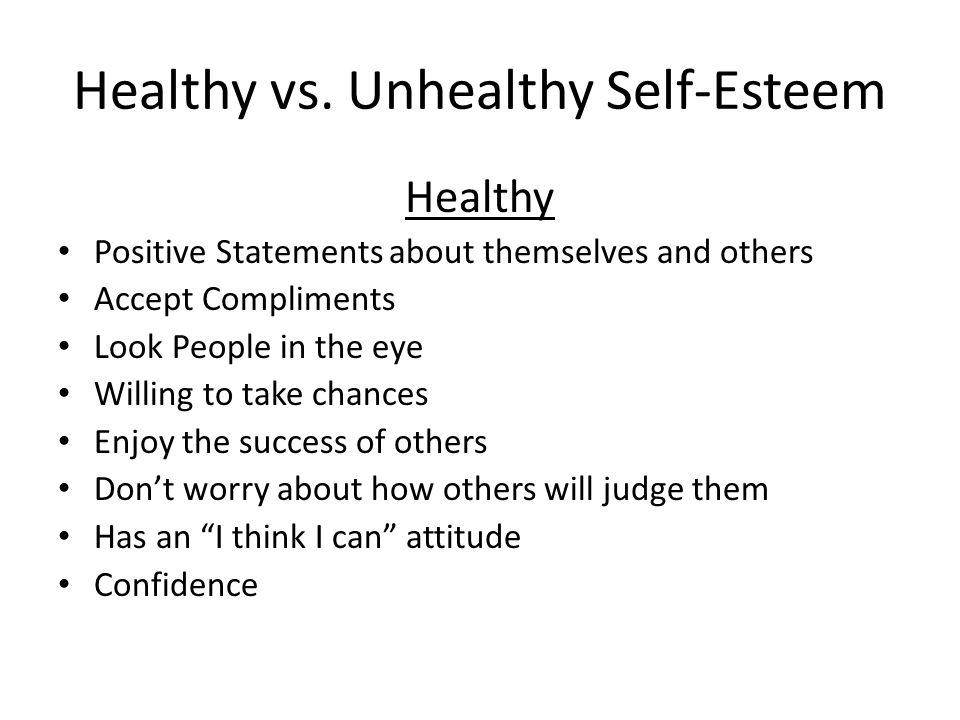 Healthy vs.
