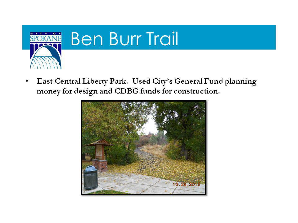 Ben Burr Trail East Central Liberty Park.