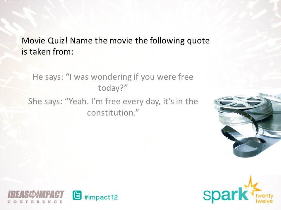 Movie Quiz.