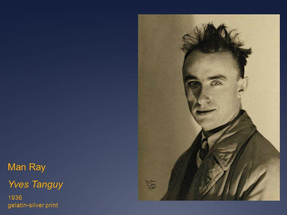 Man Ray Yves Tanguy 1936 gelatin-silver print