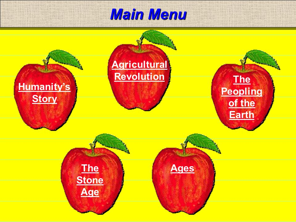 NEXTBACK MAIN MENU The Agricultural Revolution The earliest known permanent agricultural community was established in: Mesopotamia near the Tigris and Euphrates Rivers.