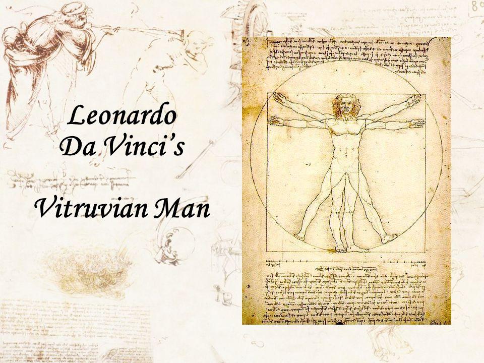 Leonardo Da Vincis Vitruvian Man