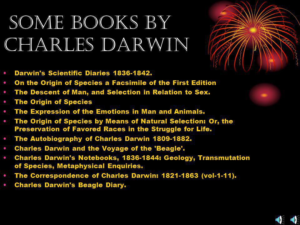 The Late Years of Darwin Charles Darwin remained ill most of his life. He never traveled abroad again. He may have suffered from Chagas disease. On Se