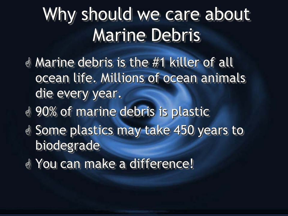 What is Marine Debris??.