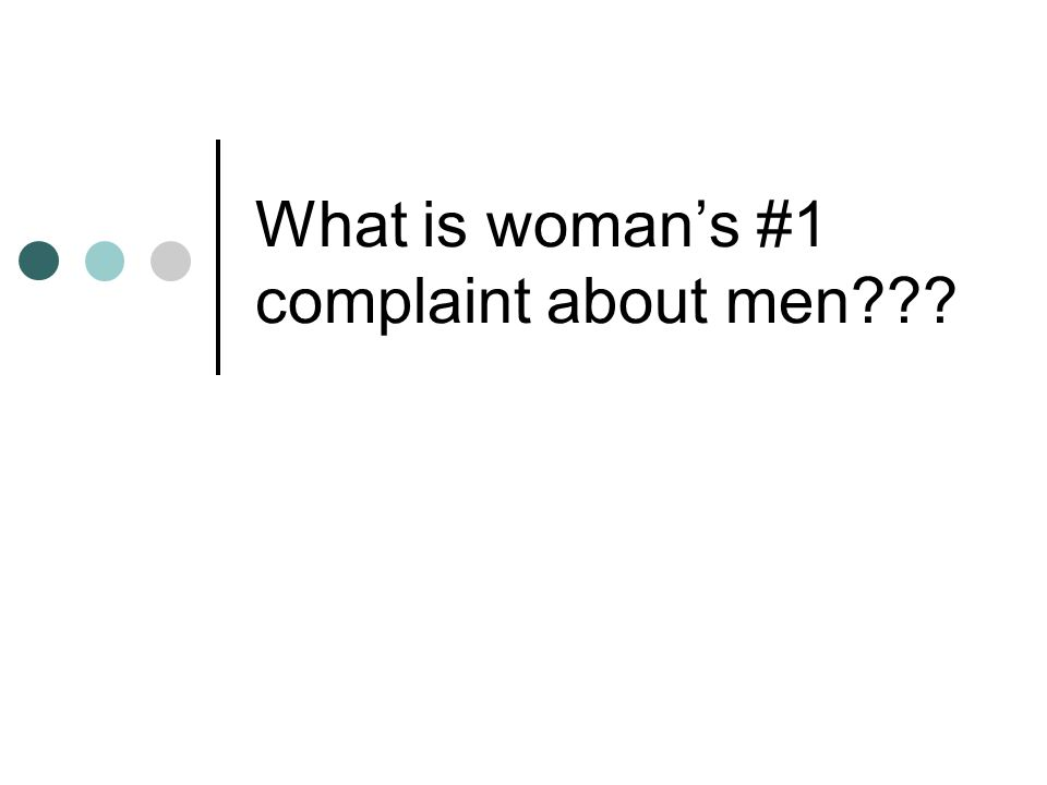 Who has ever said Men are so dense and clueless – I dont understand them?