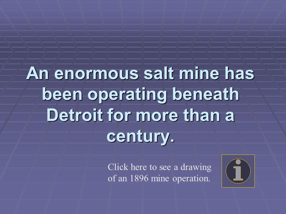 Man-Made Caves of Salt