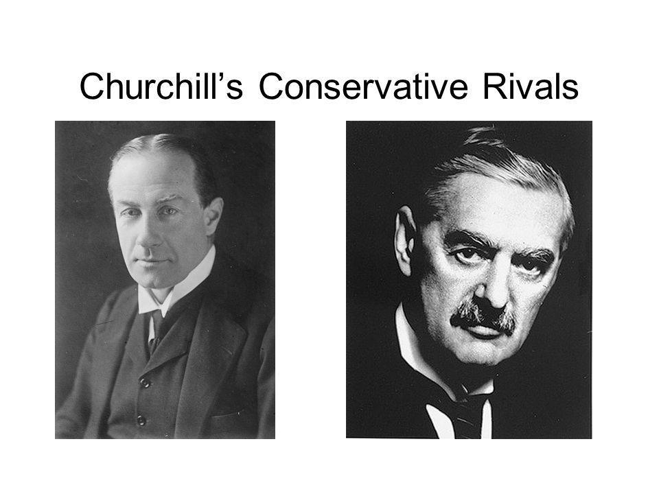 Churchills Conservative Rivals