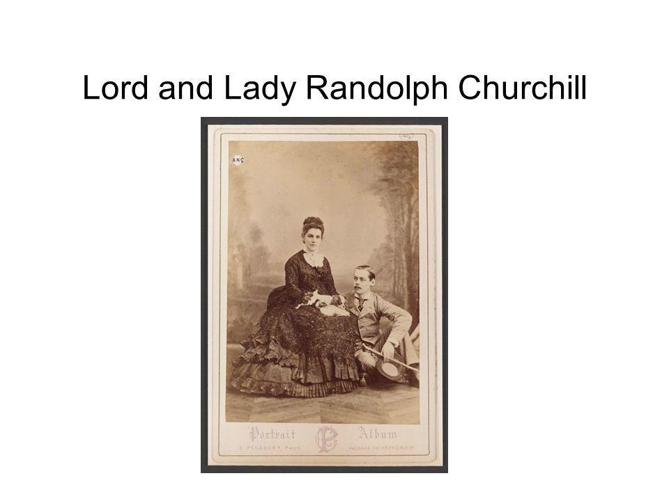 Lord and Lady Randolph Churchill