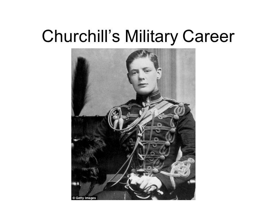 Churchills Military Career