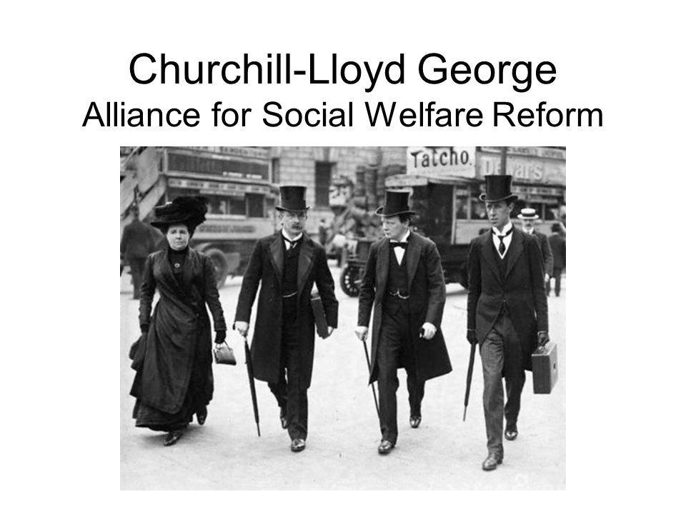 Churchill-Lloyd George Alliance for Social Welfare Reform