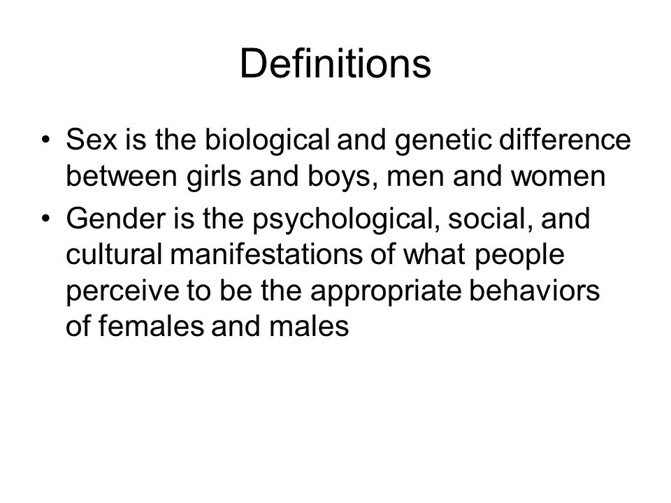 Three Theoretical Explanations Genetics Modeling of older males and females Conditioning or reinforcement