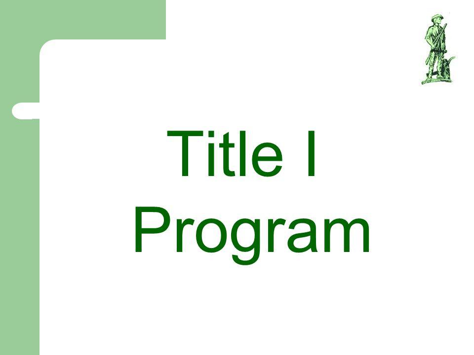 Title I Program