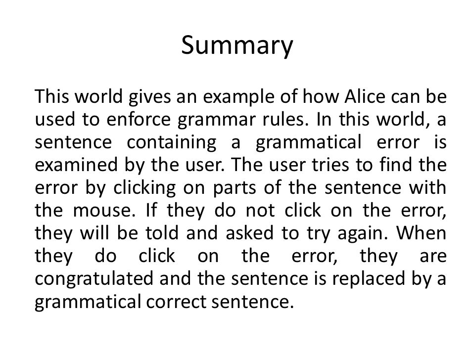Sentence Circles Click on the circle behind she and I to highlight it in the object tree.