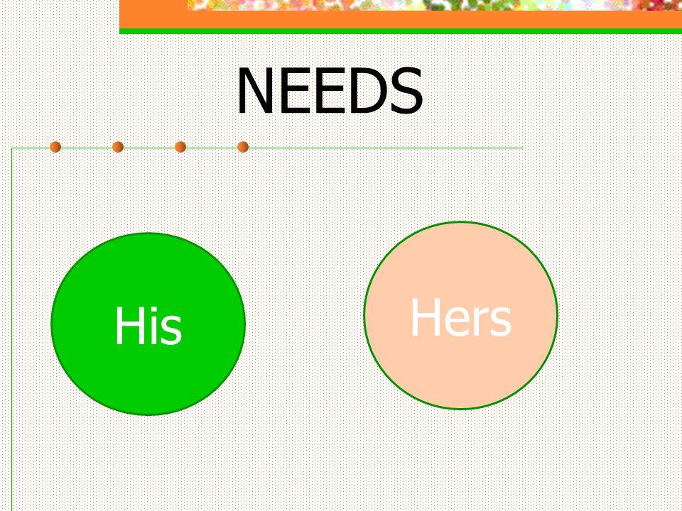 NEEDS His Hers