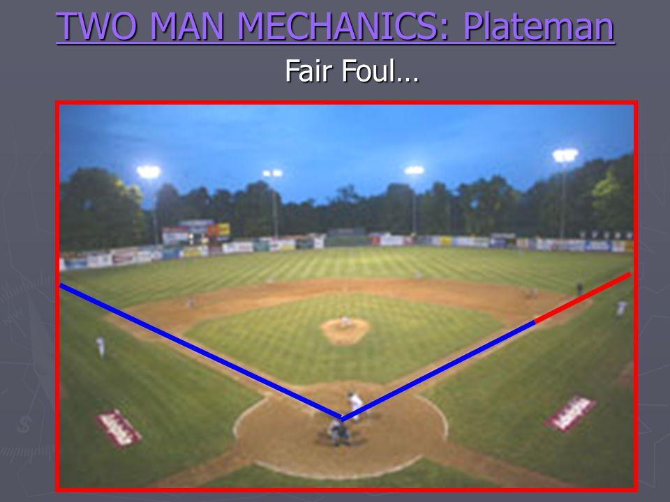 TWO MAN MECHANICS: Plateman Fair Foul…