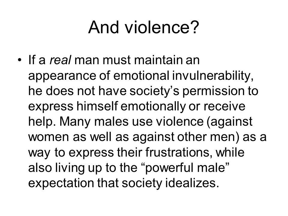 And violence.
