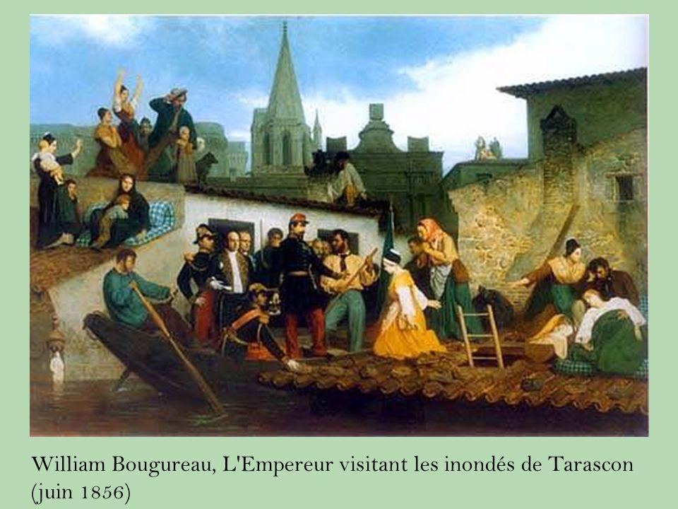 William Bougureau, L Empereur visitant les inondés de Tarascon (juin 1856)