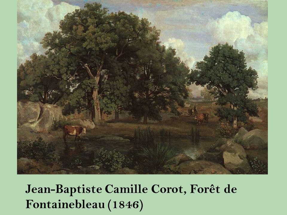 Jean-Baptiste Camille Corot, Forêt de Fontainebleau (1846)