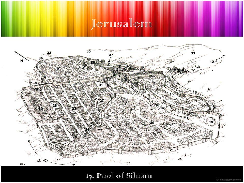 Jerusalem 17. Pool of Siloam