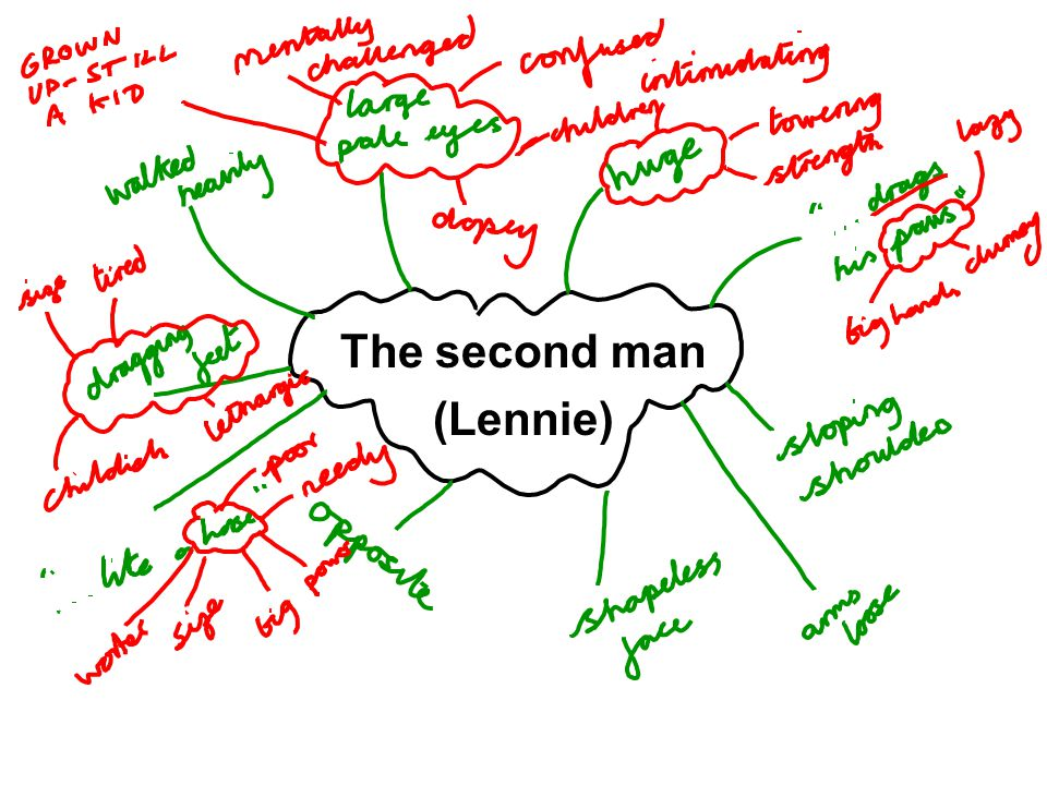 The second man (Lennie)