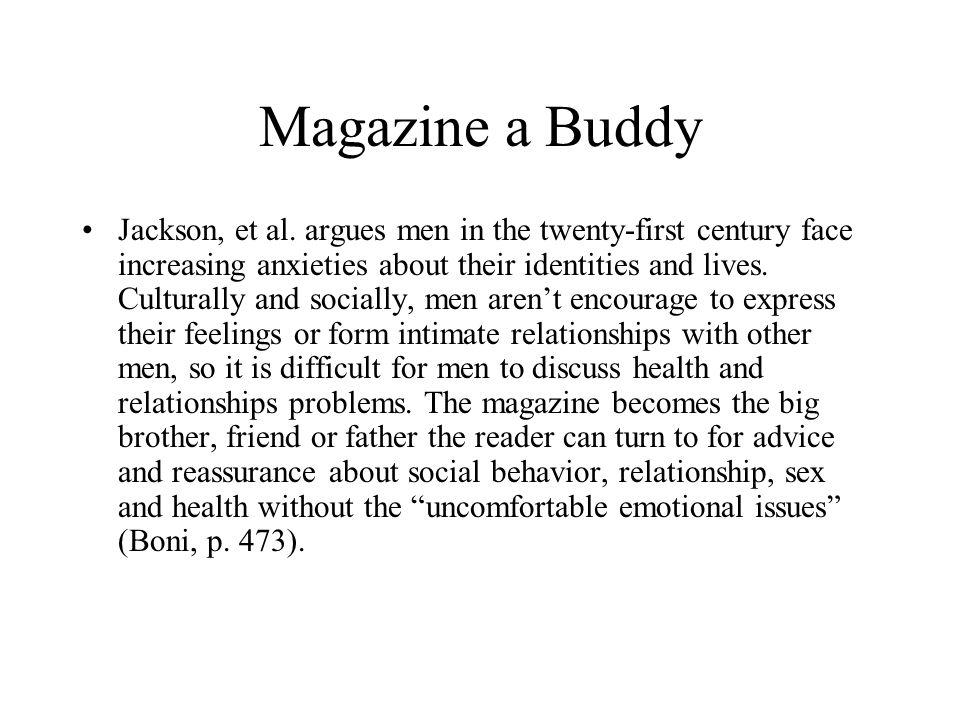 Magazine a Buddy Jackson, et al.