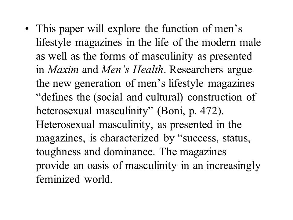 Currently, men live six years less than women.