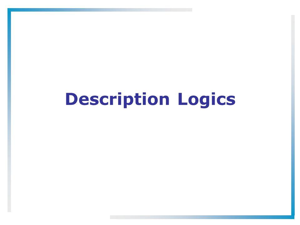 Description Logics