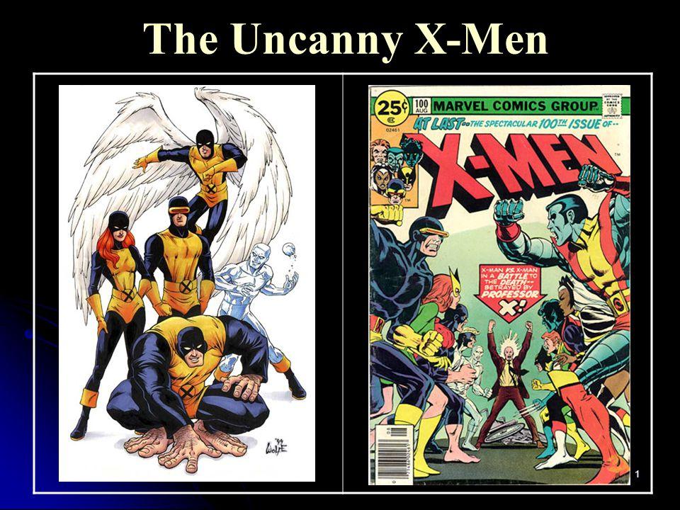 1 The Uncanny X-Men