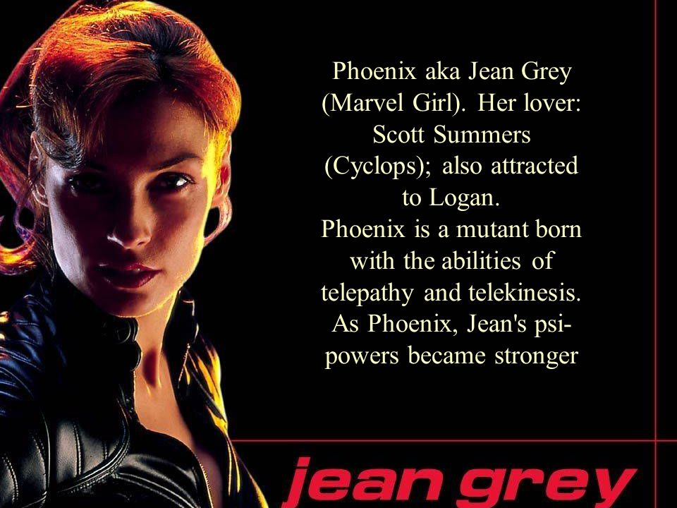 12 Phoenix aka Jean Grey (Marvel Girl).