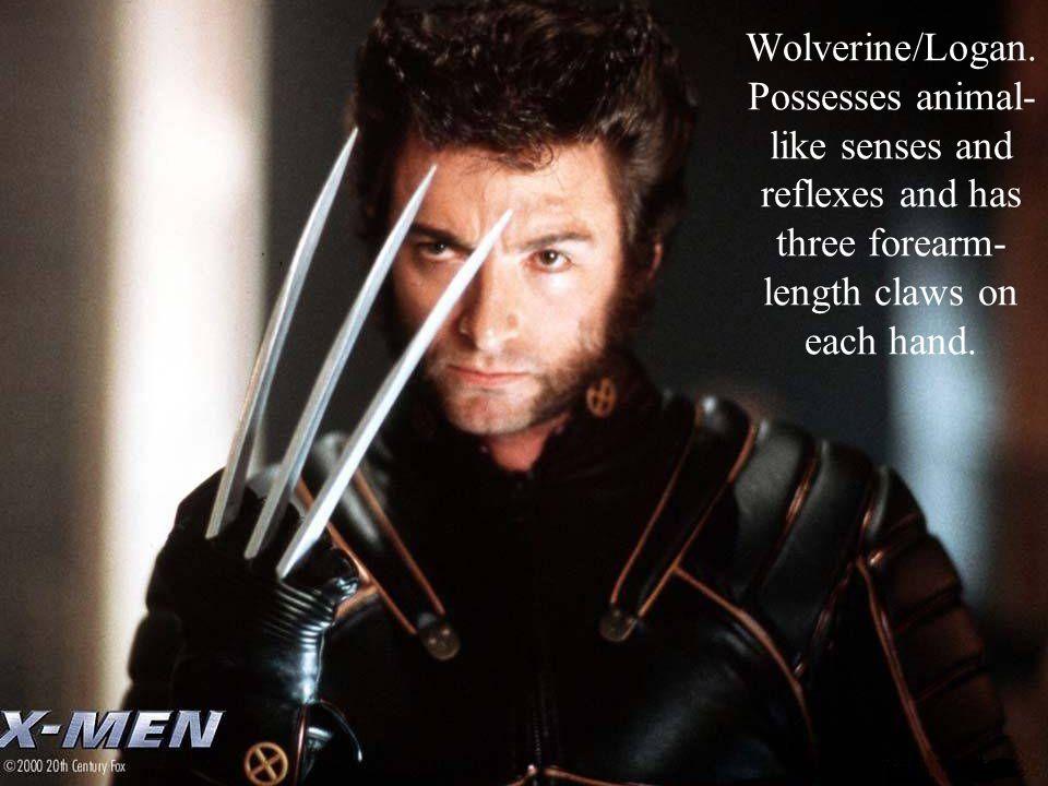 14 Wolverine/Logan.