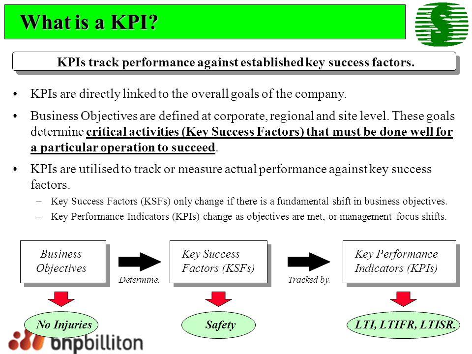 How do I interpret a KPI.