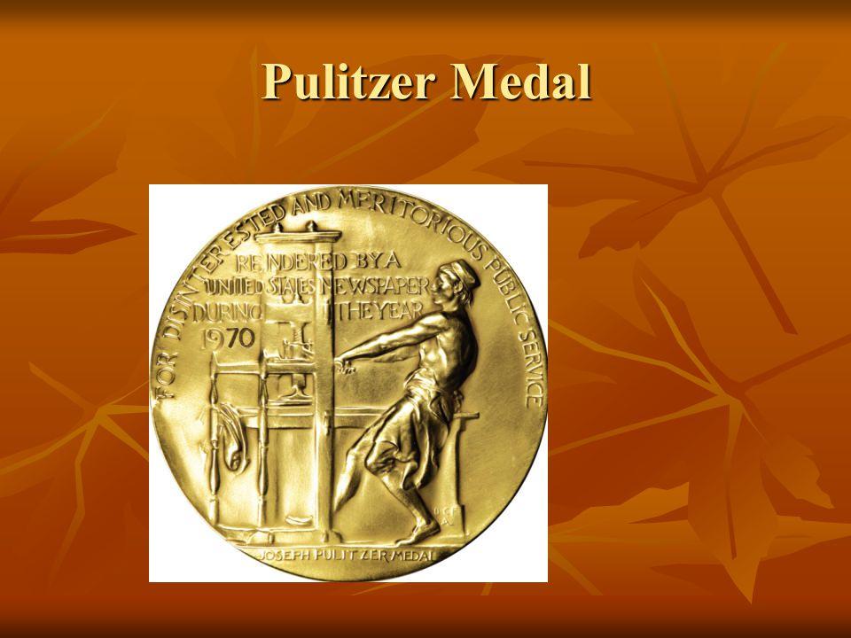 Pulitzer Medal