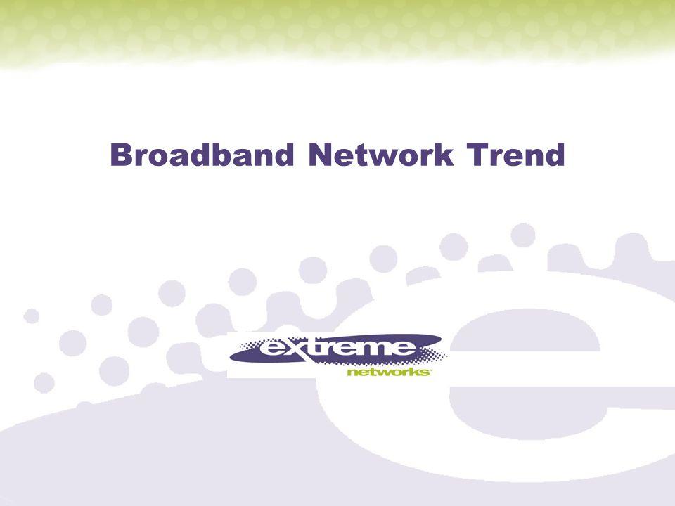 Broadband Network Trend