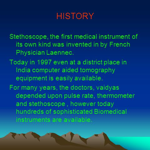 BREAK THROUGH A major break through in the form of ECG was invented by Dutch scientist in 1930.
