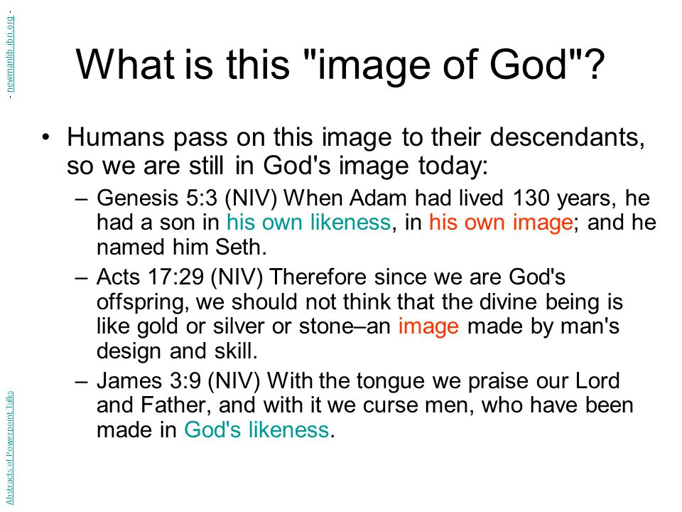 Investigating Our Passage Why does Genesis 9:6 say it is wrong to shed human blood (that is, to take human life).