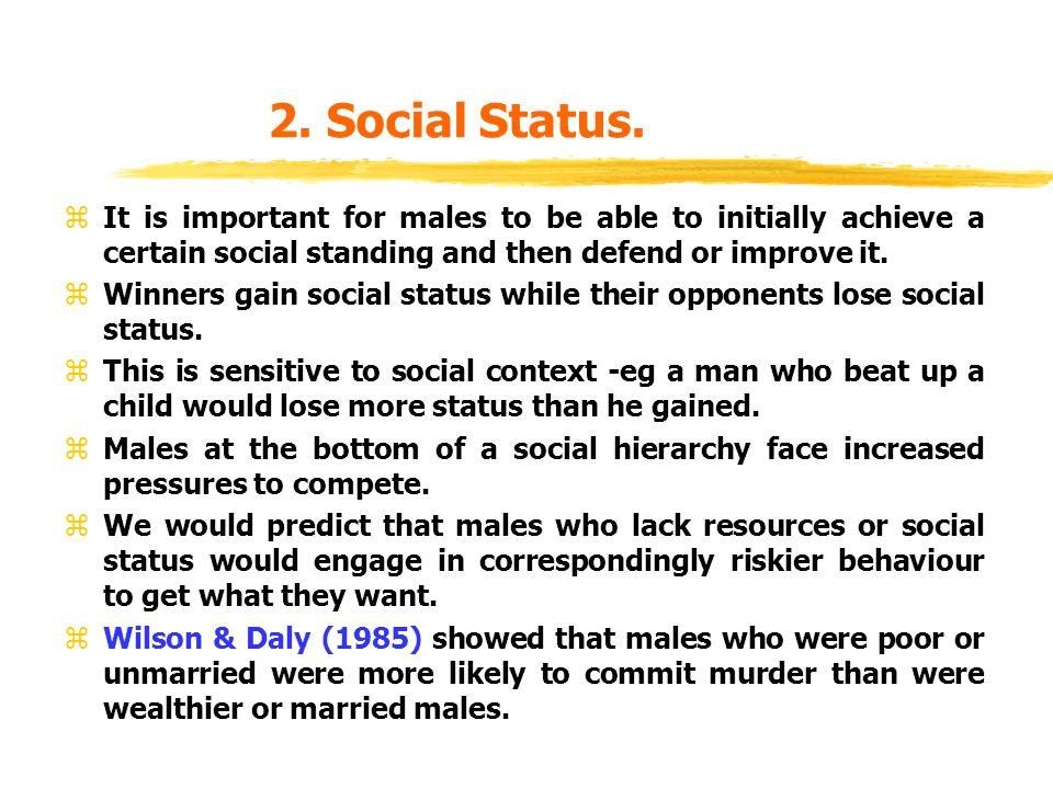 2. Social Status.