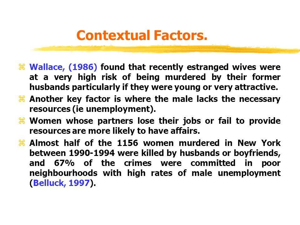 Contextual Factors.