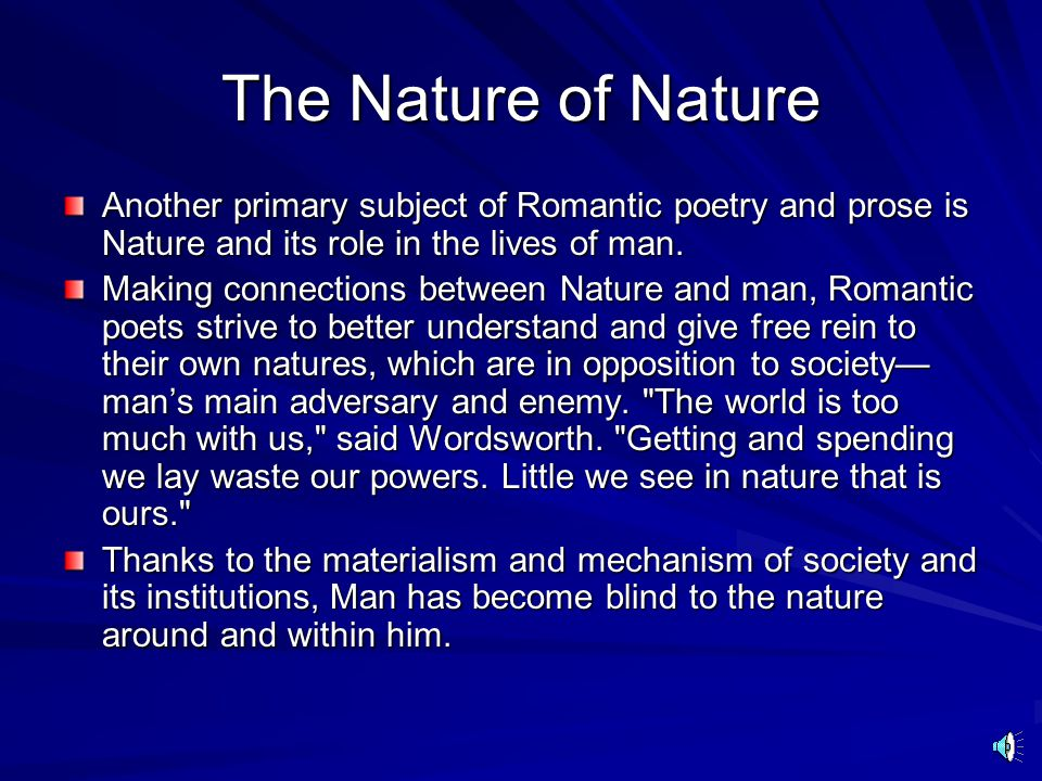 Romantic Love The subject of these Lyric poems and Romance novels is often, as you might imagine, Romantic Love, which is a reaction against the staid