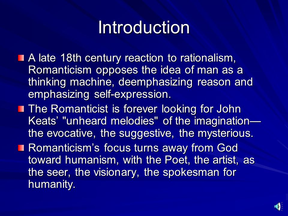 Dr. Marc D. Baldwin Romanticism Copyright © 2005 by Marc D. Baldwin, PhD