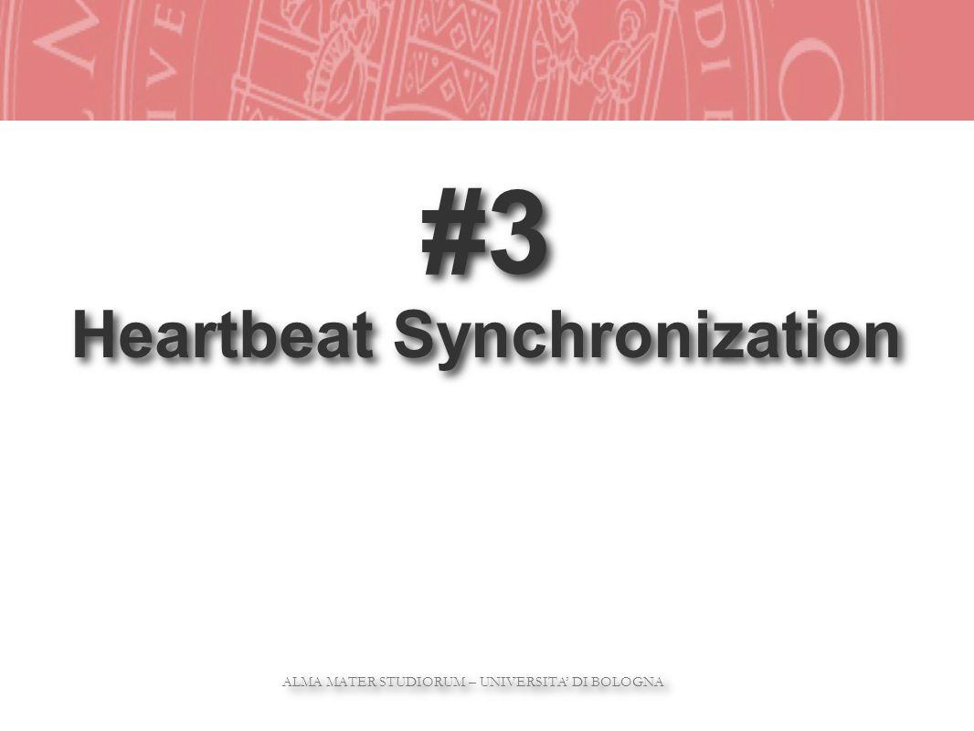 ALMA MATER STUDIORUM – UNIVERSITA DI BOLOGNA ALMA MATER STUDIORUM – UNIVERSITA DI BOLOGNA #3 Heartbeat Synchronization #3 Heartbeat Synchronization