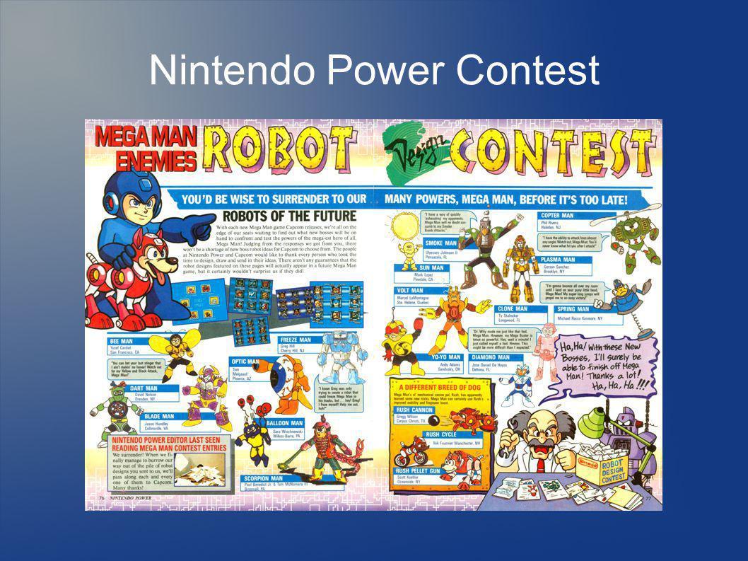Nintendo Power Contest